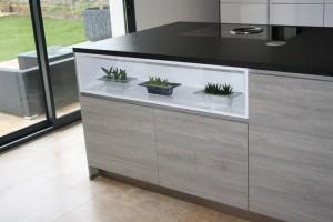 Meuble de cuisine Alno - 92 - Antony- Plan de travail Granit noir