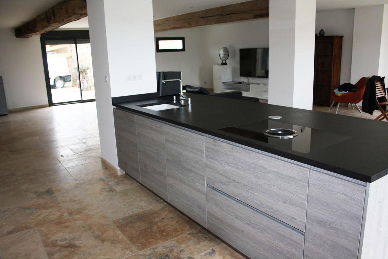 Plan De Travail Cuisine En Granit Noir cuisine alno 92 – antony – plan de travail granit noir